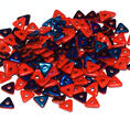 Tri-Bead - 4,5 mm - Opaque Red Azuro -  5 gram