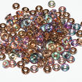 O-Bead - 3,8 mm - Crystal Copper Rainbow -  5 gram