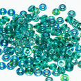 O-Bead - 3,8 mm - Emerald AB -  5 gram
