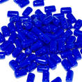Rulla Bead - 5x3 mm - Opaque Blue - 10 gram