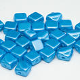 Silky Bead - 6x6 mm - Pastel Turquoise - 40-pack