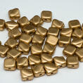 Silky Bead - 6x6 mm - Crystal Bronze Pale Gold - 40-pack
