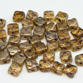 Silky Bead - 6x6 mm - Crystal Picasso - 40-pack
