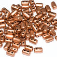 Rulla Bead - 5x3 mm - Crystal Vintage Copper - 10 gram