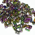 Rulla Bead - 5x3 mm - Crystal Magic Orchid - 10 gram