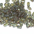 Rulla Bead - 5x3 mm - Crystal Blue Luster - 10 gram