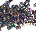 Rulla Bead - 5x3 mm - Crystal Magic Purple - 10 gram