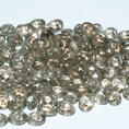 SuperDuo - 5x2,5 mm - Crystal Halo Champagne - 10 gram