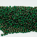 TOHO - 11/0 - Silver Lined - Frosted Green Emerald - 10 g