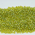 TOHO - 11/0 - Silver Lined - Rainbow Lime Green - 10 g