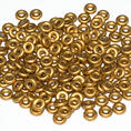 O-Bead - 3,8 mm - Brass Gold -  5 gram