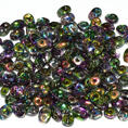 SuperDuo - 5x2,5 mm - Crystal Magic Orchid - 10 gram
