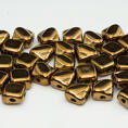 Silky Bead - 6x6 mm - Crystal Gold Luster - 40-pack